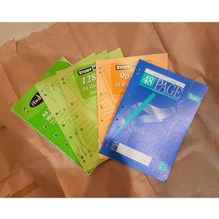 🆕6x binder notebooks
