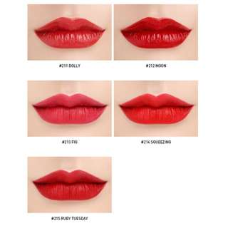 3CE Red Recipe Matte Lip Colour