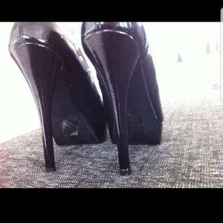 Leather Upper Pumps Size 10 From Wildpair