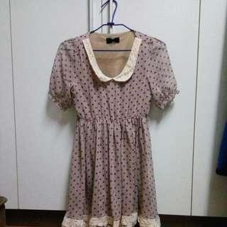 🚚 雪紡洋裝,連身裙