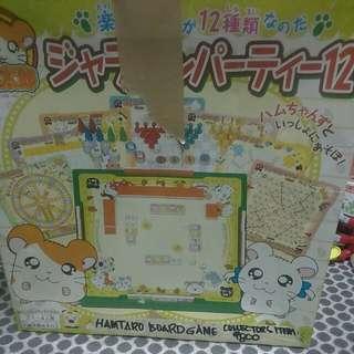 Mini Hamtaro Board Games Japan