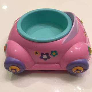 Toy Car Shaped Feeding Plate With Suction Grip
