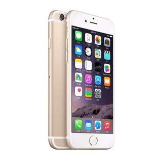 全新未拆封-2017 iPhone 6 32G 金色限定款