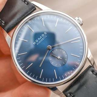 Nomos Orion Midnight Blue Limited Edition