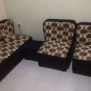 Sala Set with 1-stool & 2pillows