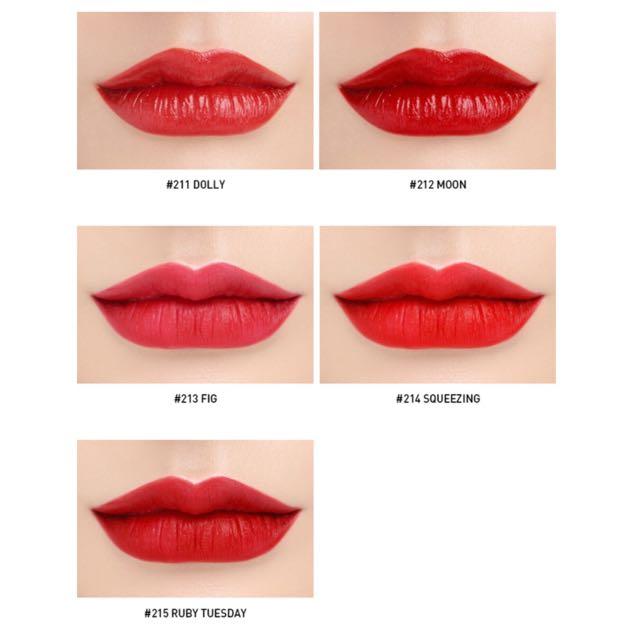 3CE Red Recipe Matte Lip Colour