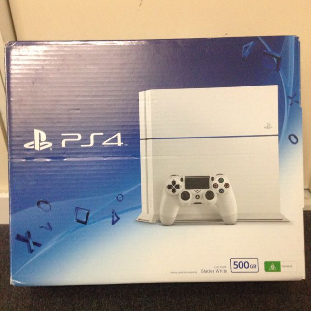 500gb White PlayStation 4