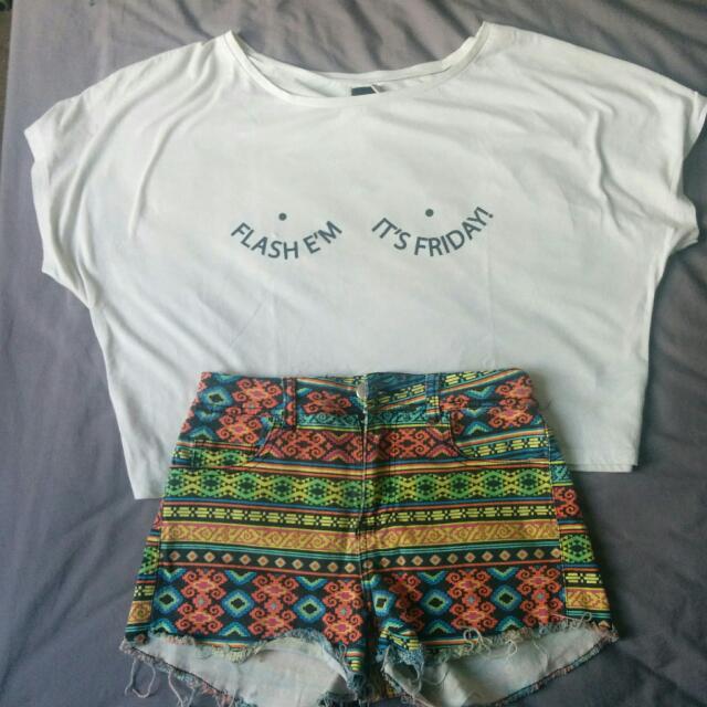 FREE - Tops + Shorts