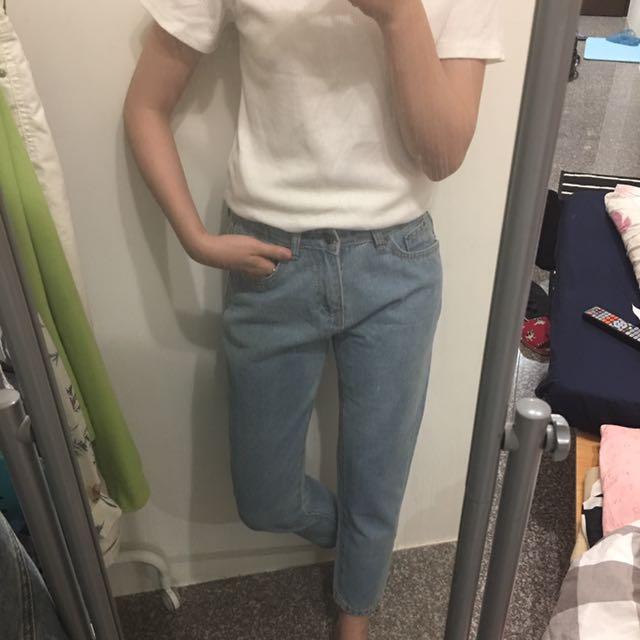 微寬牛仔褲👖