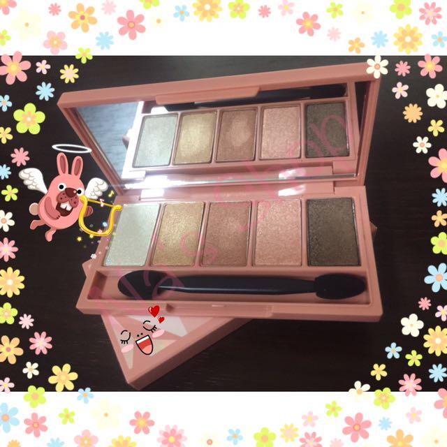 [ 正韓 ]Aritaum styling eye palette 五色眼影盤😍#3 珊瑚布朗