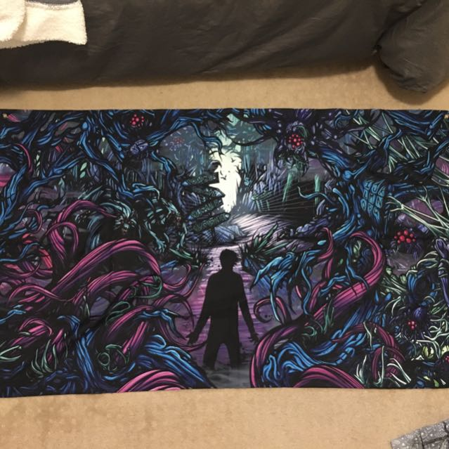 "A Day To Remember ""HOMESICK"" Poster Flag"