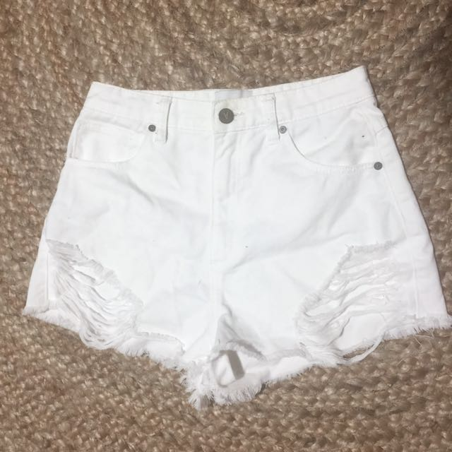 Abrand High Wasted Shorts