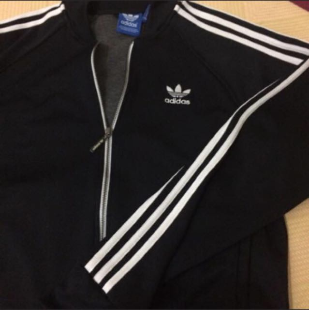 Adidas 黑白外套