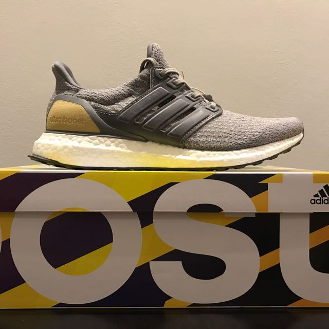 192f4f0a1af8 ADIDAS Ultra Boost 3.0 Limited Edition Grey Leather Cage