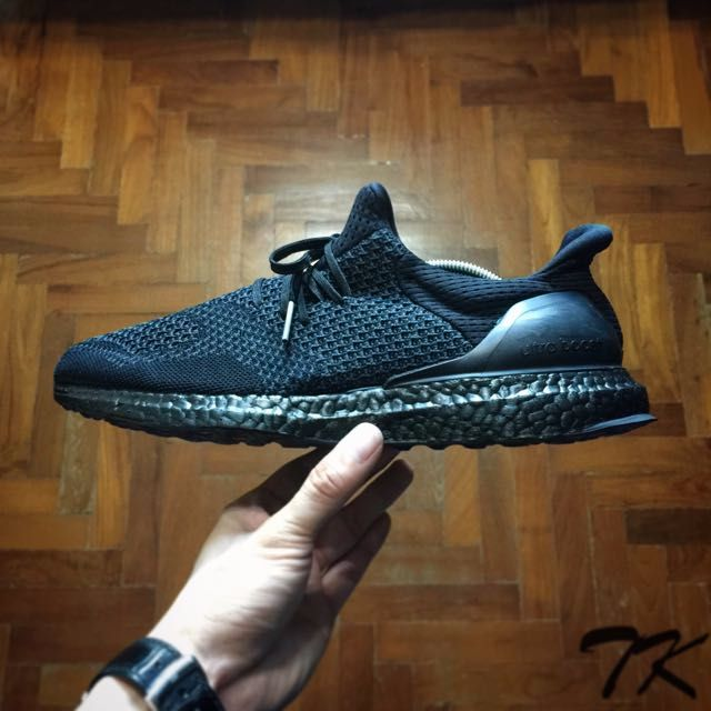 wholesale dealer d480a af2d3 Adidas Ultra Boost Uncage Blackout Custom, Men s Fashion, Footwear ...