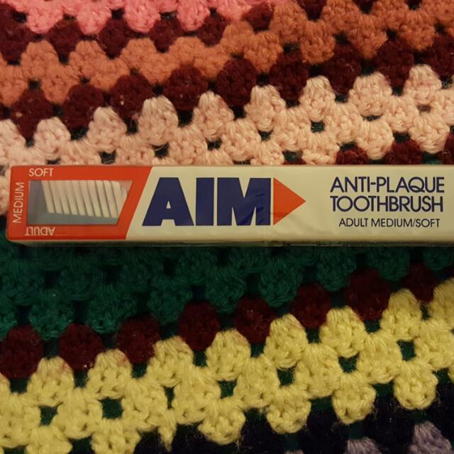 AIM Anti Plaque Toothbrush
