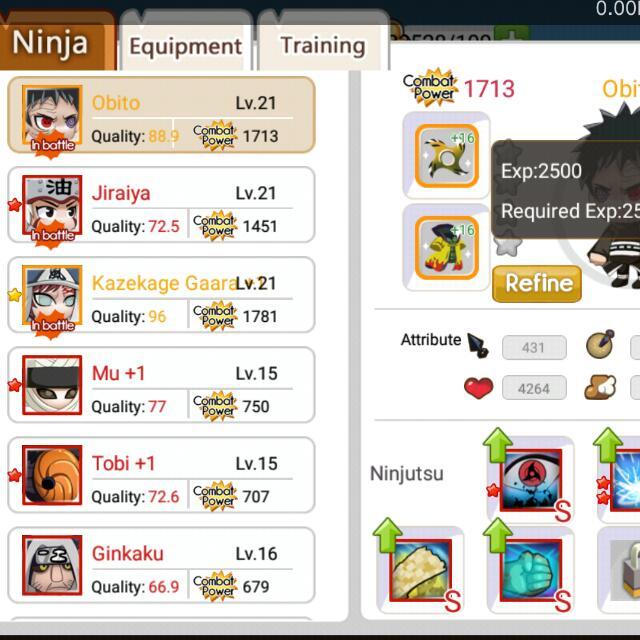 Akun Ninja Heroes Reborn Komunitas Di Carousell