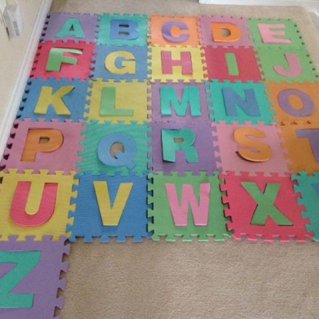 Alphabet Foam Mats