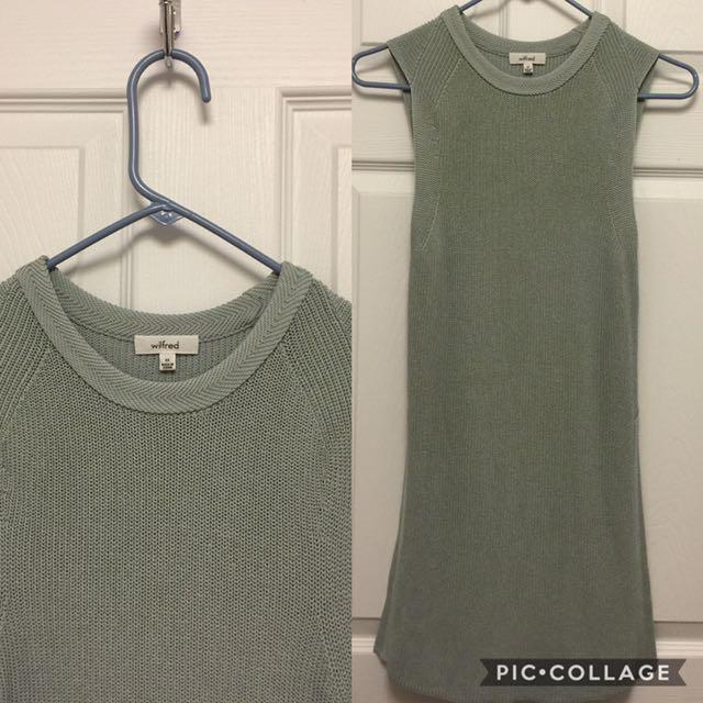94a33bf4fa4f9 Aritzia Wilfred Sleeveless Sweater