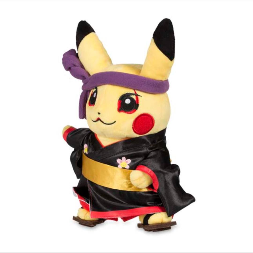 Around the World Kabuki Pikachu Poké Plush