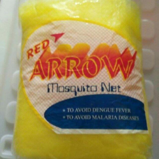 Arrow mosquito net