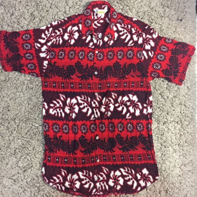 Baju pantai pria / kemeja bahamas / kemeja hawaii