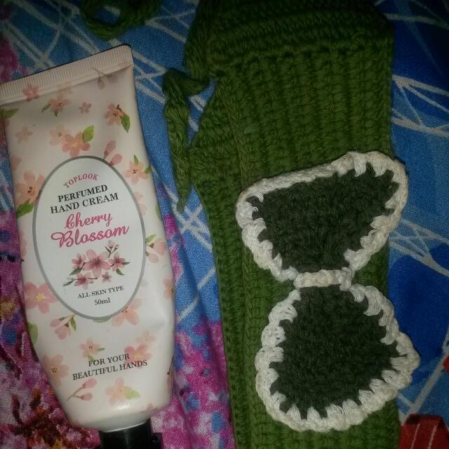Bandana& Hand Cream Bherry Blassom