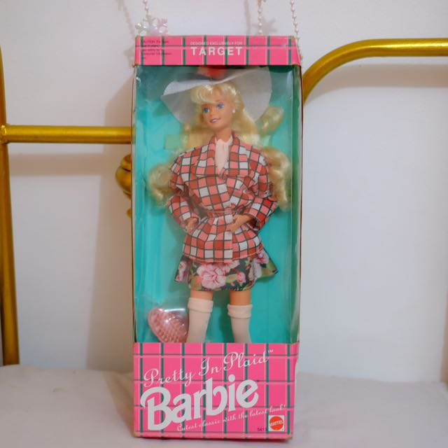 BARBIE PRETTY IN PLAID (Special Edition For Target)
