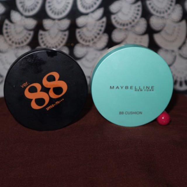 BEDAK VER 88 & Maybelline BB Cushion