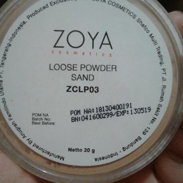 Bedak Zoya (Loose Powder)