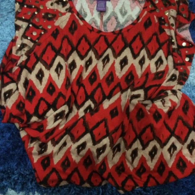 Beverly Drive Blouse Red