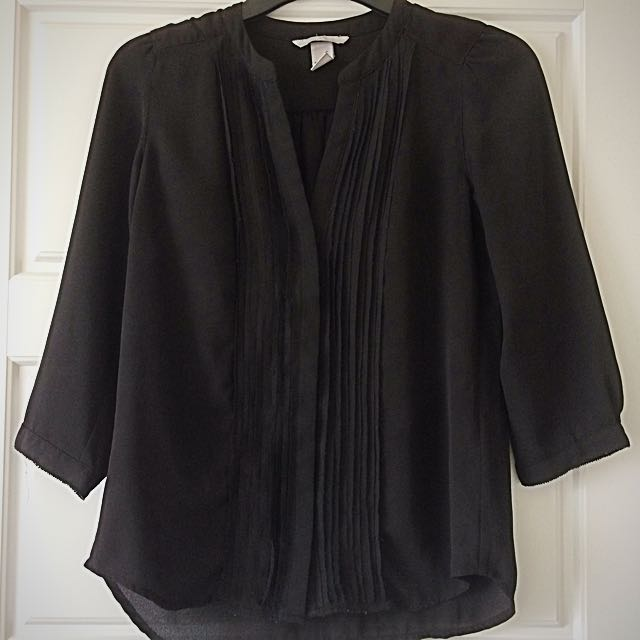 Black H&M Blouse (S)
