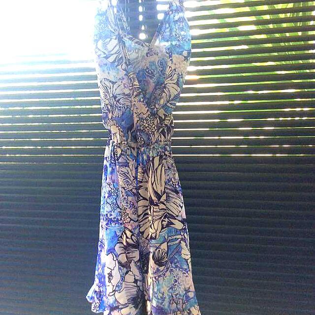 Blue And Purple Dress
