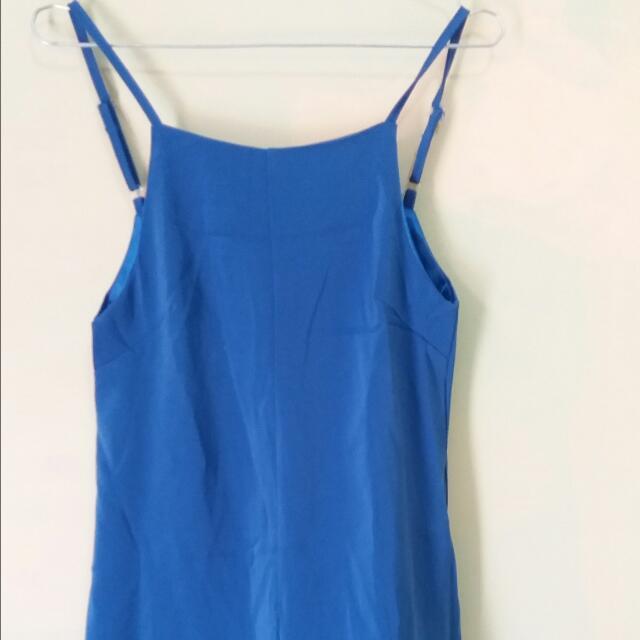 Blue Jumpsuit by Yuan Clothinb