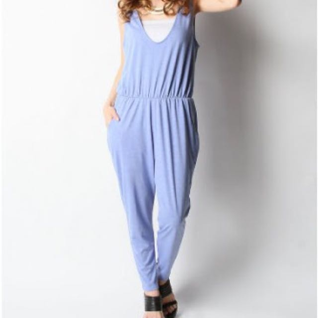Blue Playsuit