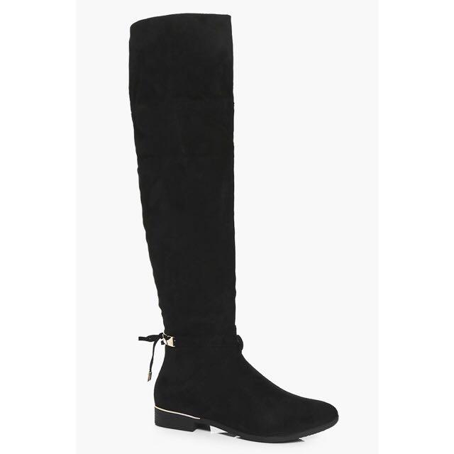 Boohoo Knee Boots