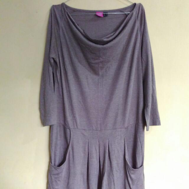 Brown blouse - sophie