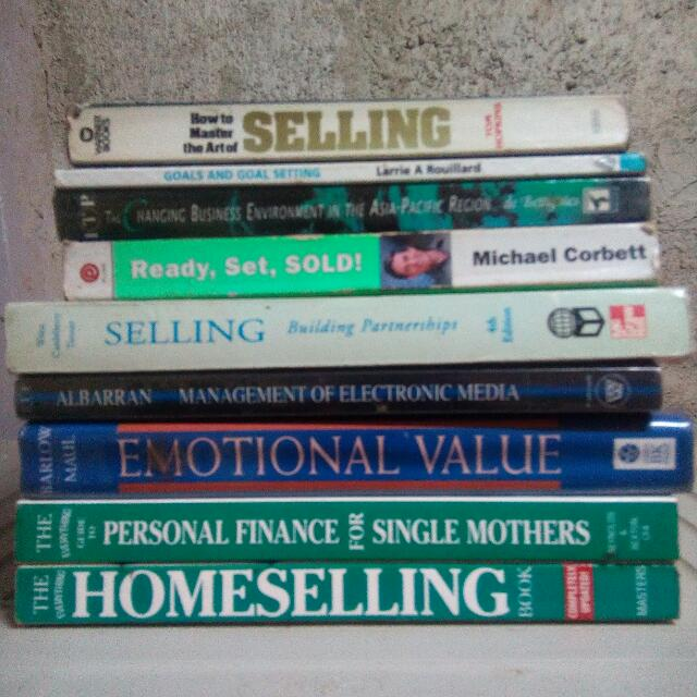 Business Books, Selling Strategies Books
