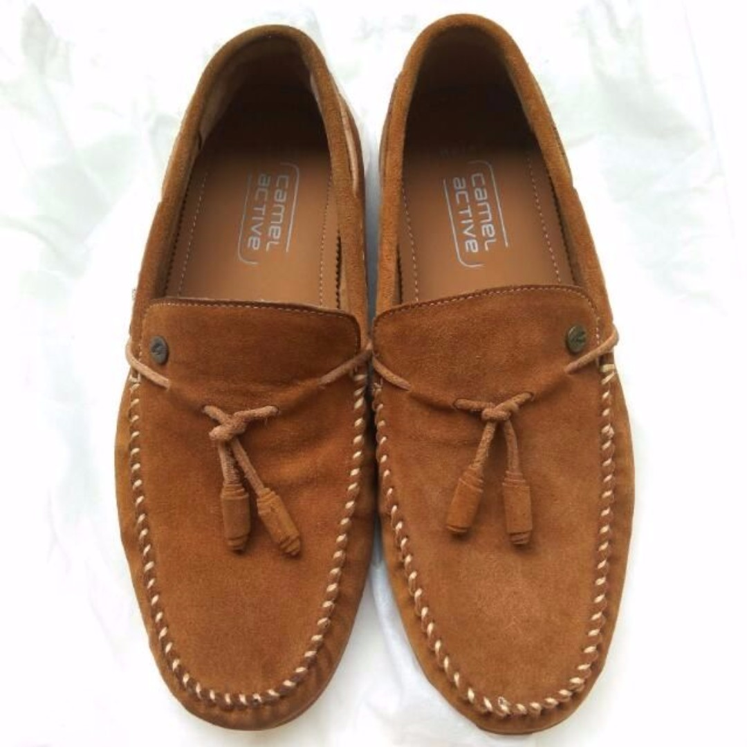 Camel Active Brown Khaki Loafers
