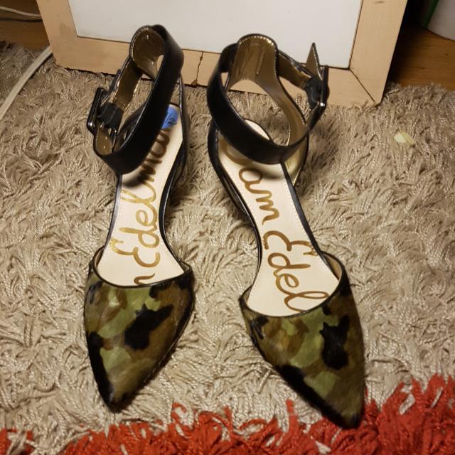 Camo Design Heels