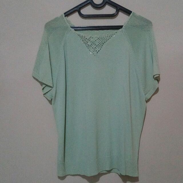Casual Mint Top