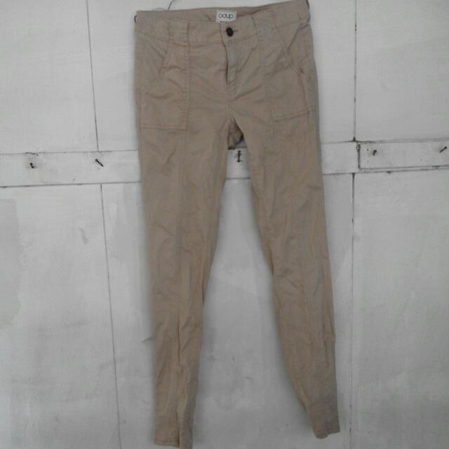 Celana Panjang Coup Size M - L Warna Khaki