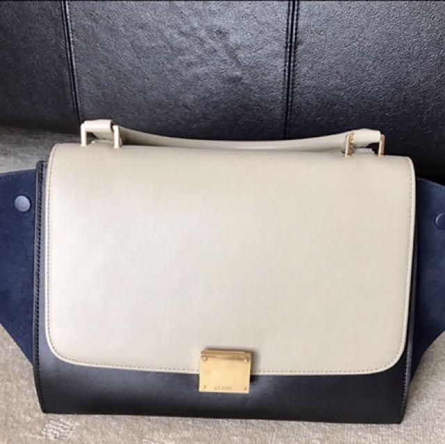 Celine Trapeze Handbag Small
