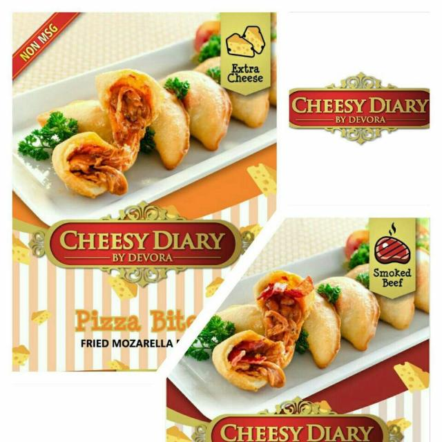 Cheesy Diary Pizza Bites By Devora