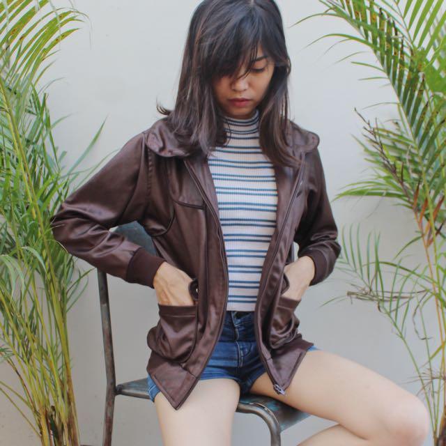 Choco Brown Jacket