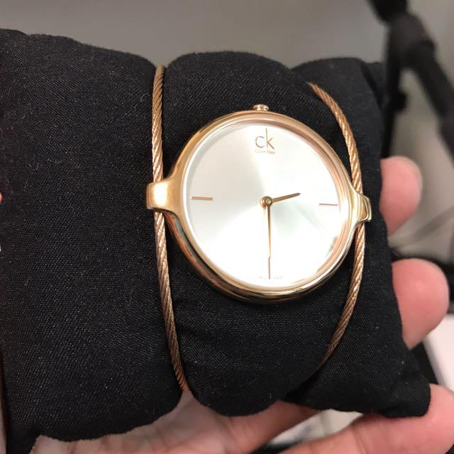 CK Calvin Klein 限量手錶女用