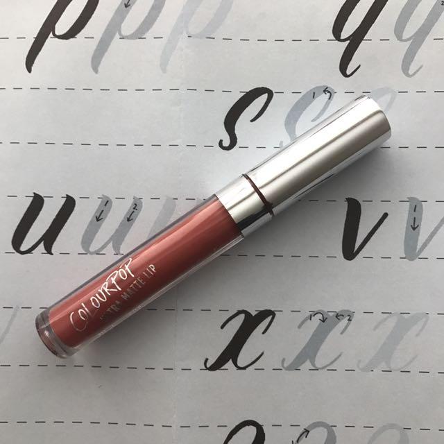 COLOURPOP ultra matte lip bumble