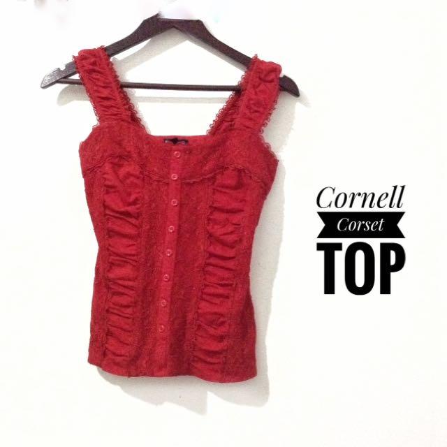 Cornell Corset Top