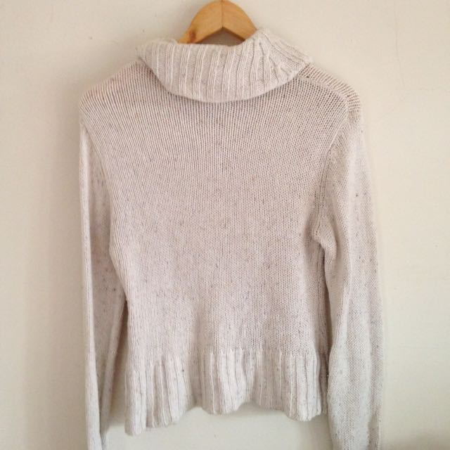 Cream Knitted Cardigan