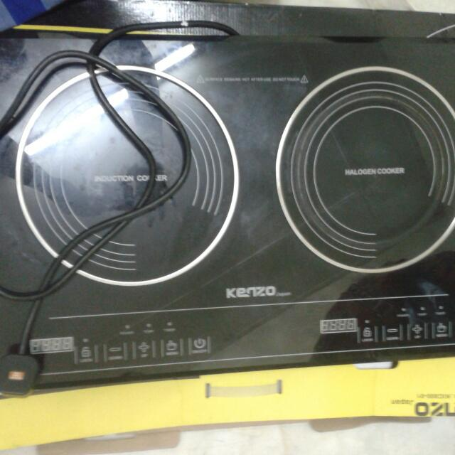 Dapur Elektrik Kenzo Kitchen Liances On Carou